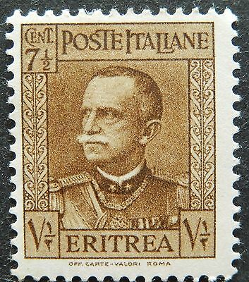 Italy stamp COLONY  ERITREA OLD MINT  hinged WITH ORIGINAL GUM