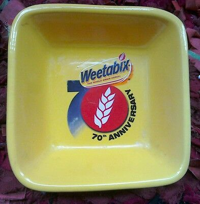 Square Weetabix70th Anniversary bowl