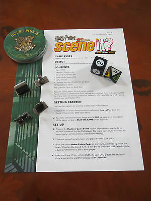 Harry Potter Scene It? 2nd Edition 2007 Spares Replacements Board Games
