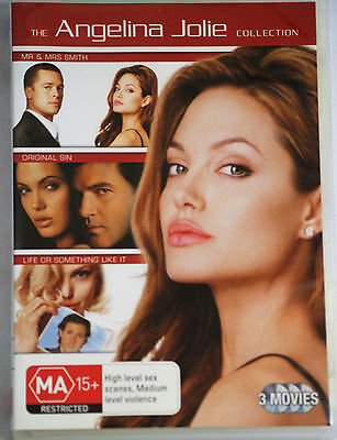 The Angelina Jolie Collection 3 Movie  -   Dvd