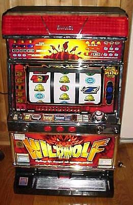 Family Slot Machine*WILD WOLF*wilderness theme 4th Reel~back-to-Nature/wildlife