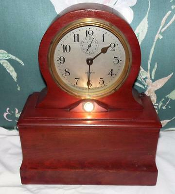 Scarce DITTCO Alarm Clock 1920 Patent Lights Up & Chimes