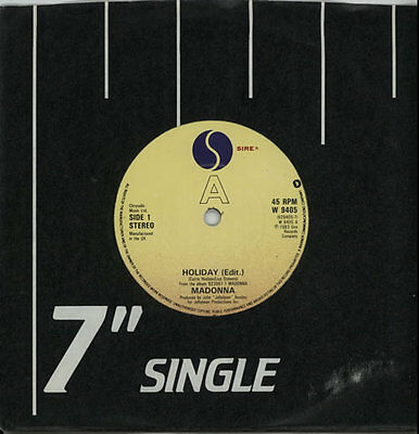 """Madonna 7"""" vinyl single record Collection of Seven Inch Singles UK promo"""