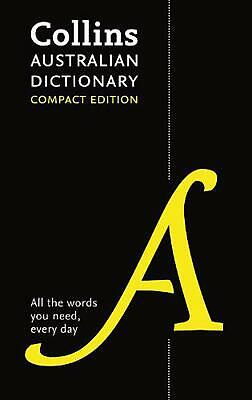 Collins Australian Compact Dictionary Hardcover Book Free Shipping!