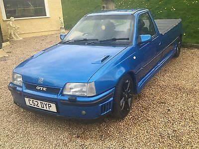 Vauxhall Astra Gte Red Top Pickup