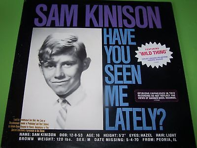 Sam Kinison - Have you seen me Lately? - 1988 US LP