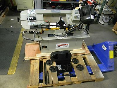 "Vectrax 7"" x 12"" Manual Step Pulley Combination Horizontal Vertical Band Saw"
