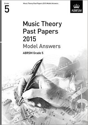 Music Theory Past Papers 2015, Model Answers ABRSM Grade 5 Sheet music