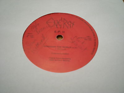Energy Ep 2 - Conquer The World / Make It / Law Breaker = Signed By The Band