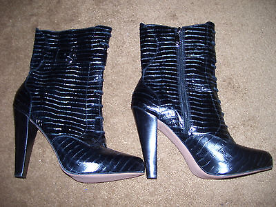 Ladies Talbots Boots New Size 10.5 Black Great Xmas Gift