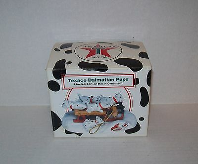 2000 Texaco Dalmatian Pups 2 Nd Series Limited Edition Resin Ornament