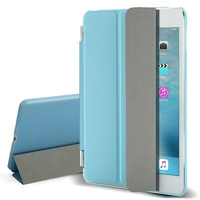Blue Flip Magnetic Leather Smart Cover Stand Case for Apple iPad Mini 1 2 3