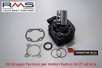 Gruppo Termico Cilindro + Pistone RMS D 39mm-50cc per Kymco Agility 50 RS Naked