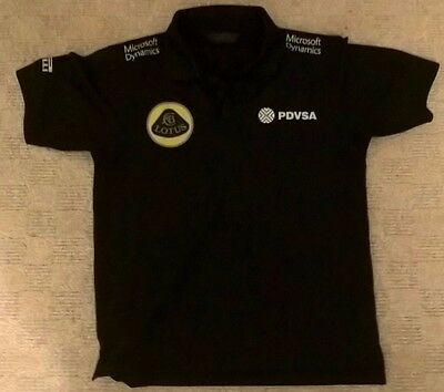 2015 Lotus F1 Team Official Team Shirt Size S