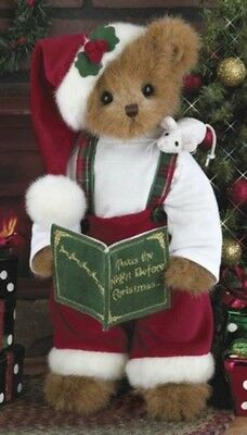 CHRISTOPHER CHRISMOUSE*Bearington Bear*NEW*Twas Night Before Christmas*173185