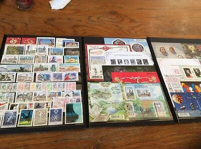 FRANCE -ANNEE 2013 COMPLETE  -NEUF **LUXE= 125 Timbres dont 15 Blocs (65timbres)