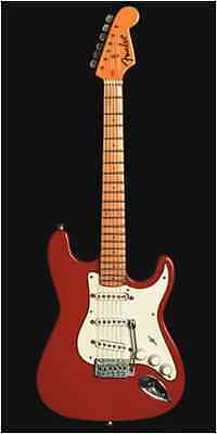 Baby Axe Licensed Fender Stratocaster Red Miniature Ornamental Guitar