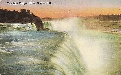 BE68.Vintage  Postcard.View from Prospect Point.Niagara.