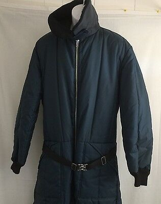 VTG Sears Snow Suit Men's 44 Tall Winter Work Snowmobile Insulated Coverall