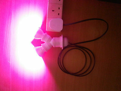 Hydroponic Grow Light Led 56W with Lead Red & Blue Dual - Spectrum   PRIVATE
