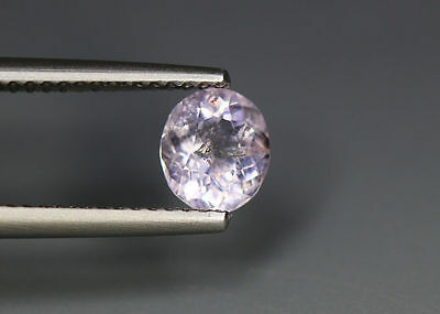 0.74 Cts _Top !!! Grade Stunnig Gemstone_100 % Natural Light Purple Scapolite