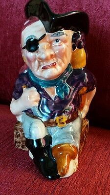 Vintage Long John Silver Toby Jug by Shorter  and Son.