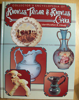 ANTIQUE KNOWLES & TAYLOR PRICE GUIDE COLLECTORS BOOK WHISKEY JUG Lotus Vitreous