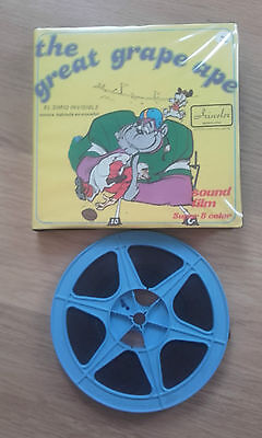 Pelicula Cine Super 8 mm The Great Grape Ape El Simio Invisible Esp. Color Sonor
