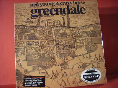 """Neil Young """" Greendale """" (Analoge 200G-Vinyl-3-Lp-Box/no Mfsl/limited/sealed)"""