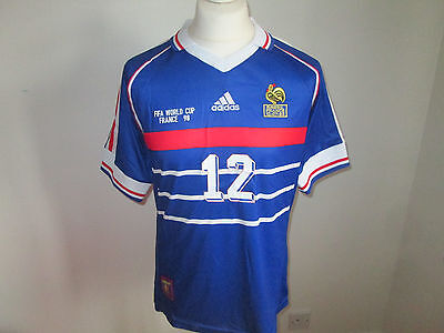 France world cup final 1998 shirt - Henry (Large)
