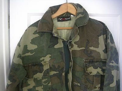 Men's REDHEAD Camouflage Hunting Mechanic Work Coveralls Size L-W40 x L29