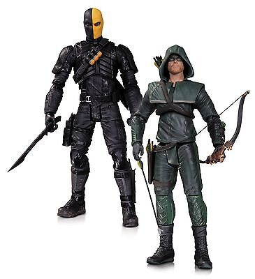 DC Collectibles Arrow Oliver Queen and Deathstroke 7'' Action Figures, 2-Pack