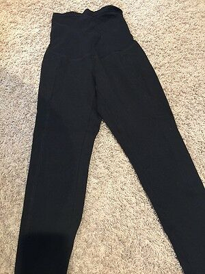 Maternity Black Leggings A Pea In The Pod Size Large