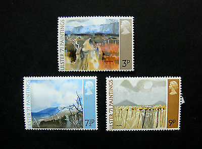 Stamps of Great Britain Ulster Paintings Unmounted mint  Set  1971