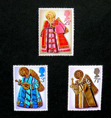 Stamps of Great Britain Christmas Unmounted mint  Set  1972
