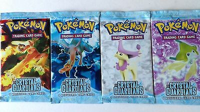 Pokemon Crystal Guardian Single Booster Pack (1)