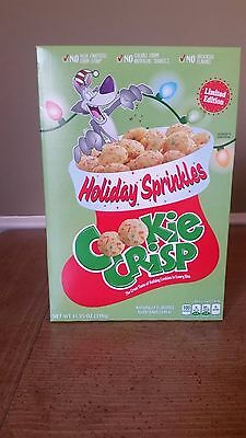 Cookie Crisp Holiday Sprinkles Limited Edition Cereal 11.25 Oz