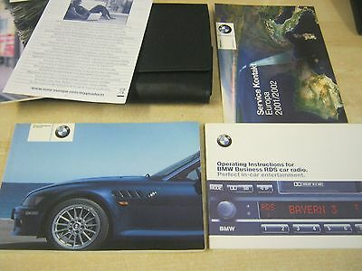 Bmw Z3 Convertible & Z3 Coupe Handbook - Owners Manual - Owners 2001-2004