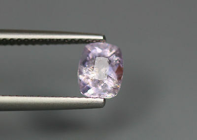 0.89 Cts _Top !!! Grade Stunnig Gemstone_100 % Natural Light Purple Scapolite