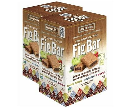 36 Count Nature's Bakery All Natural Fig Bars