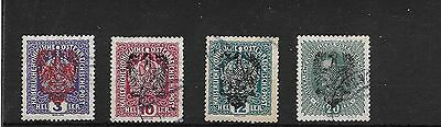 Austrian Local issue 1919? overprinted with large eagle used