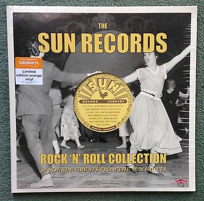 ELVIS PRESLEY THE SUN RECORDS Rock 'n' Roll Collection 2LP (2016) Orange Vinyl