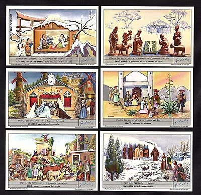 The Nativity Bible Story Card Set Liebig 1960 Jesus Christmas Christianity Baby