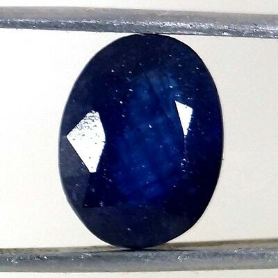 Cut Oval Shape Blue Sapphire Loose Stone 100% Natural Gemstone 6.10 Cts