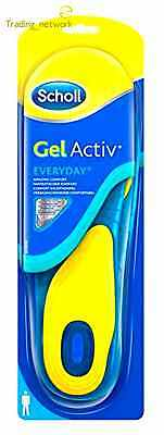 Mens Foot Care Dual Sole Shape Gel Active Everyday Comfort