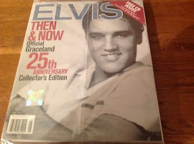 Elvis Then & Now Official Graceland 25th Anniversary Collector's Edition Mag