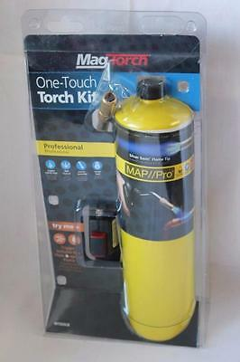 Mag-Torch One-Touch Professional Torch Kit w/ Silver Swirl Flame Tip MT565CK NEW