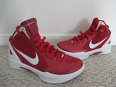 NIKE Zoom Hyperdunk Flywire Size 9.5 basketball shoes women red & white