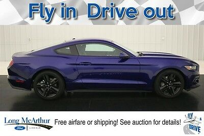 2016 Ford Mustang ECOBOOST PERFORMANCE NAV LEATHER  MSRP $36620 $5000 OFF!! VOICE NAVIGATION LEATHER SHAKER PRO AUDIO SYSTEM REAR VIEW CAMERA