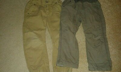 Boys trousers aged 3-4